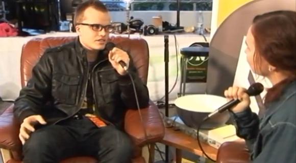 Интервью с лидером группы GodFM на фестивале Maata Näkyvissä