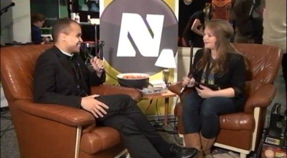 Интервью с пастором Дином Тейлором на музыкальном фестивале в Турку Maata Näkyvissä