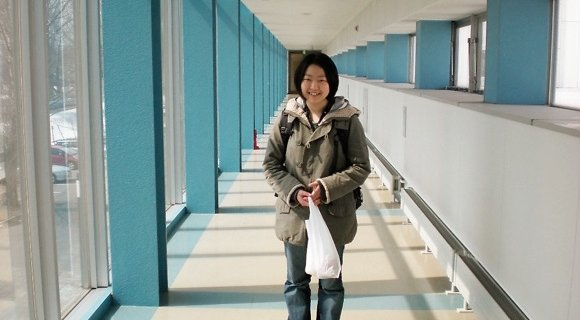 Молитва  в японском университете