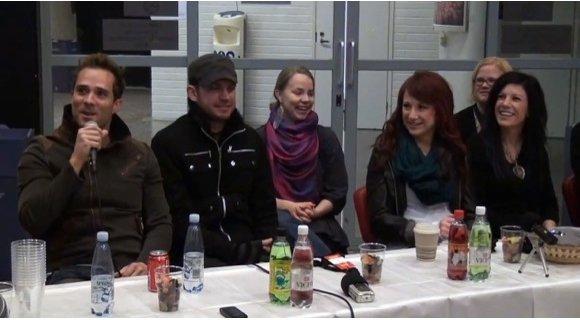Пресс конференция с группой Skillet на фестивале Maata Näkyvissä